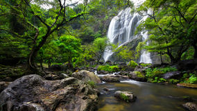 Khlong Lan Waterfall Immagini Stock