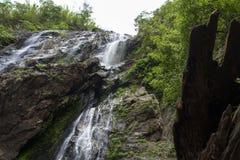 Khlong Lan Waterfall Stock Images