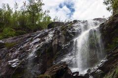 Khlong Lan Waterfall Royalty Free Stock Photography