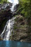 Khlong Lan Waterfall Royalty Free Stock Photo