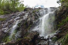 Khlong Lan Waterfall Stock Image