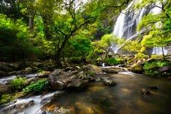 Khlong Lan Waterfall Royalty Free Stock Images