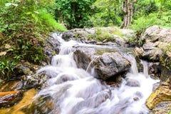 Khlong Lan waterfall in national park, Kamphaeng Phet Thailand Stock Photography