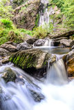 Khlong Lan waterfall in national park, Kamphaeng Phet Thailand Stock Photos