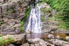 Khlong Lan waterfall in national park, Kamphaeng Phet Thailand Stock Images