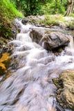Khlong Lan waterfall in national park, Kamphaeng Phet Thailand Royalty Free Stock Photos