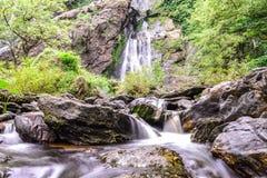 Khlong Lan waterfall in national park, Kamphaeng Phet Thailand Royalty Free Stock Images