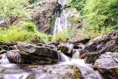 Khlong Lan waterfall in national park, Kamphaeng Phet Thailand Royalty Free Stock Photo