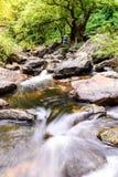 Khlong Lan waterfall in national park, Kamphaeng Phet Thailand Royalty Free Stock Image