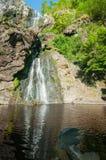 Khlong Lan waterfall of natural park Stock Images