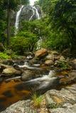Khlong Lan Waterfall tailandia Foto de archivo libre de regalías