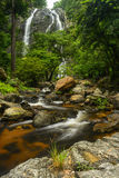 Khlong Lan Waterfall thailand Lizenzfreies Stockfoto