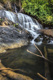 Khlong Larn Waterfall Royalty Free Stock Photography