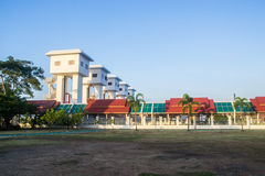 Khlong-Lat Pho-Schleusentor, Samutprakarn Thailand Stockfotografie