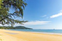 Khlong Muang海滩,泰国 免版税库存照片
