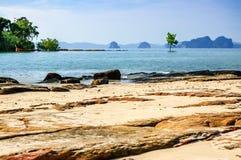 Khlong Muang Beach, Krabi, southern Thailand Stock Images
