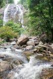 Khlong Nam Lai Waterfall Stock Foto's