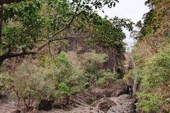 Khlong Phlu waterfall, Chang island, Thailand Royalty Free Stock Image