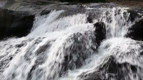 Khlong Plakang vattenfall stock video