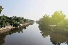 Khlong Saen - Saep Foto de archivo libre de regalías