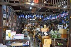 Khlong Suan Centenary Market near Bangkok, Thailand. This 100 years old market along a klong, about 20 km East of Bangkok Suvarnabhumi Airport, is a big bazaar Royalty Free Stock Photos