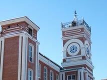 Khludovsky Manufactory was de bouw van de eerste het weven productie van Yegoryevsk, die in 1870 werd geopend Stock Afbeelding