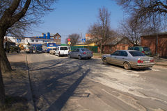 KHMELNITSKY, UKRAINE - 19. APRIL Lizenzfreies Stockfoto