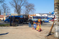 KHMELNITSKY, UKRAINE - APRIL 19 Stock Photo