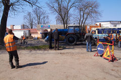 KHMELNITSKY, UKRAINE - 19 AVRIL Photographie stock