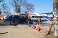 KHMELNITSKY, UKRAINE - 19 AVRIL Photo stock