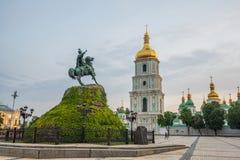 Free Khmelnytsky Monument, Kyiv, Ukraine Stock Photography - 186042882