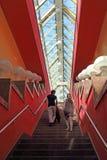 Khmelnytskyi的一个步行桥名字的内部在Mosc 图库摄影