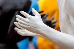 Khmelnytskyi Украина Октябрь 2018 Скульптуры Виктором Sidore стоковое изображение