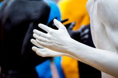 Khmelnytskyi ucrania En octubre de 2018 Esculturas de Viktor Sidore imagenes de archivo