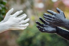 Khmelnytskyi ukraine Oktober 2018 Skulpturer av Viktor Sidore arkivbilder