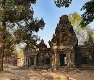 Khmer αρχιτεκτονική σε Angkor σύνθετο, Καμπότζη Στοκ Φωτογραφία