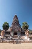Khmer καταστροφές στην Ταϊλάνδη Στοκ εικόνα με δικαίωμα ελεύθερης χρήσης
