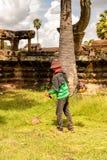 Khmer ναός σε Angkor στην Καμπότζη Στοκ εικόνες με δικαίωμα ελεύθερης χρήσης