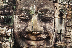 Khmer ναός Bayon σε Angkor στην Καμπότζη Στοκ Φωτογραφίες