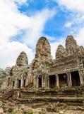 Khmer ναός Bayon Στοκ Φωτογραφία