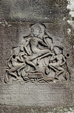 khmer πέτρα γλυπτικών της Καμπότ&z Στοκ φωτογραφία με δικαίωμα ελεύθερης χρήσης
