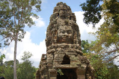Khmer Angkor Temples (Prasat Ta Prohm) at Siem Reap Cambodia Stock Photography