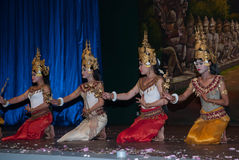 Khmer apsara dance Stock Photos