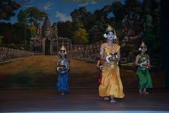 Khmer apsara dance Royalty Free Stock Photo