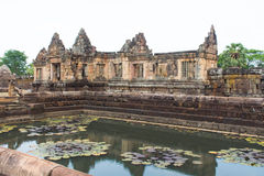 Khmer archaeological site of Prasat Muang Tam in Buriram Province,Thailand Stock Image