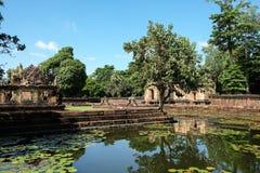 Khmer Architecture Royalty Free Stock Photos
