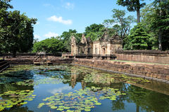 Khmer Architecture Royalty Free Stock Image