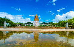 Khmer architecture in a park. Royalty Free Stock Photography