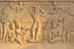 Khmer Art Ancient temple. Cambodia Royalty Free Stock Photos