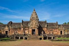 Khmer art sanctuary in Thailand Royalty Free Stock Images